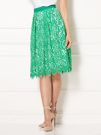 Eva Mendes Collection - Carmela Lace Skirt - New York & Company