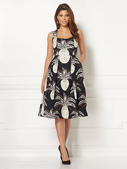 Eva Mendes Collection - Catarina Corset Dress - Petite - New York & Company