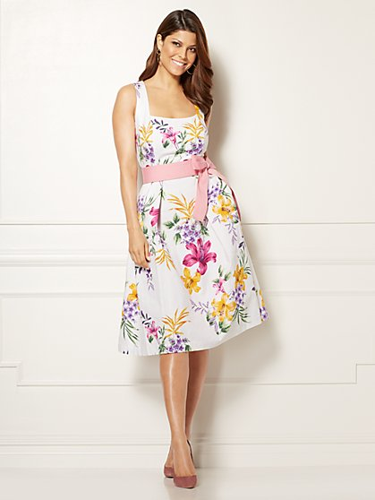 Eva Mendes Collection - Catarina Dress - Floral - Tall - New York & Company