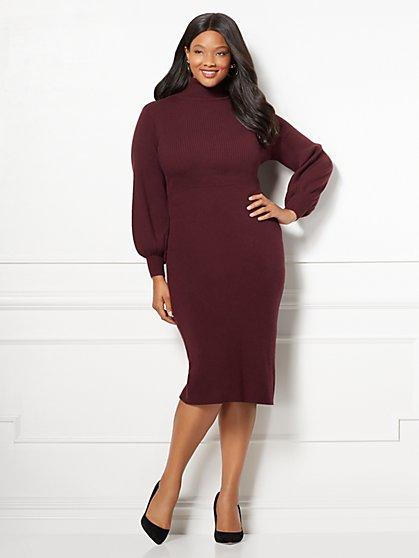 Eva Mendes Collection - Catrina Sweater Dress - Plus - New York & Company