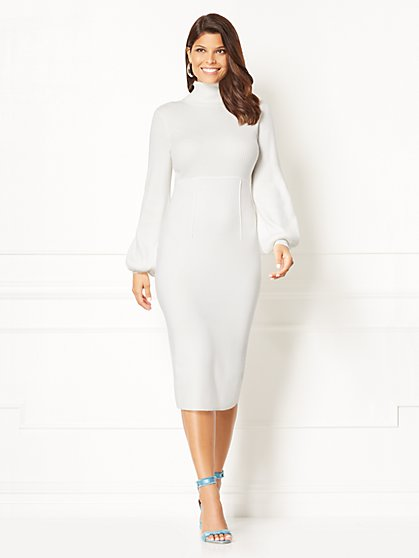 Eva Mendes Collection - Catrina Sweater Dress  - New York & Company