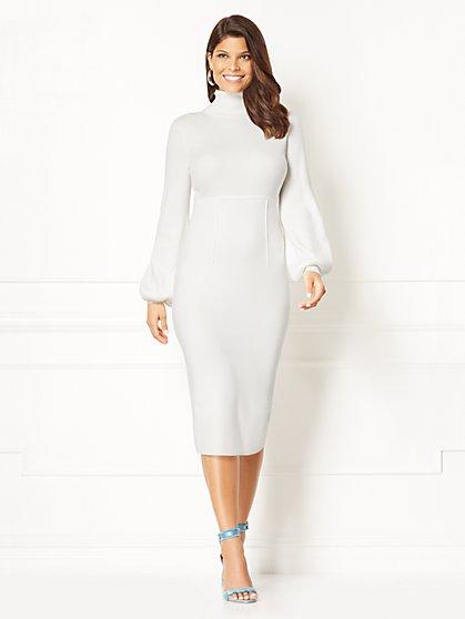Eva Mendes Collection - Catrina Sweater Dress  - New York & Company