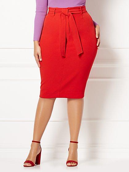 Eva Mendes Collection - Celine Midi Skirt - Plus - New York & Company