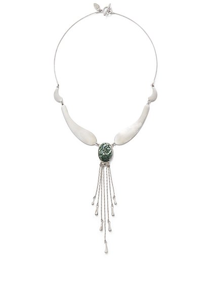 Eva Mendes Collection - Chain Tassel Necklace  - New York & Company