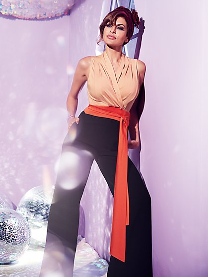 Eva Mendes Collection - Chalina Colorblock Jumpsuit - New York & Company