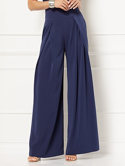 Eva Mendes Collection - Clara Palazzo Pant - New York & Company