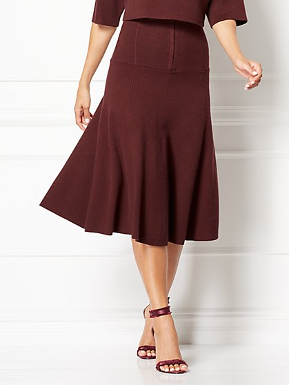 Eva Mendes Collection - Darcella Sweater Skirt - New York & Company