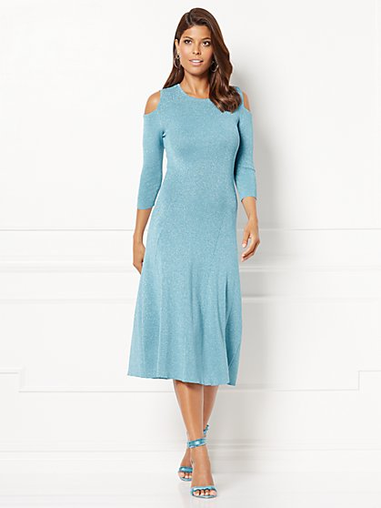 Eva Mendes Collection - Deanna Sweater Dress - New York & Company