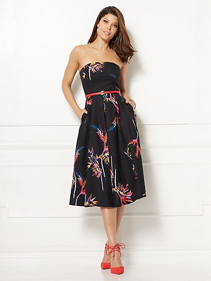 Eva Mendes Collection - Del Mar Strapless Dress - New York & Company