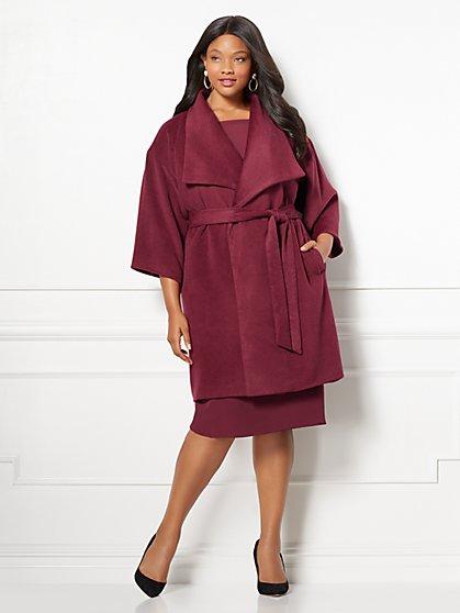 Eva Mendes Collection - Delfina Coat - Plus - New York & Company
