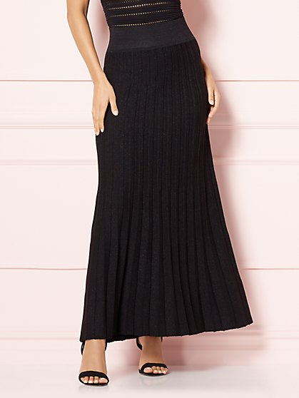 Eva Mendes Collection - Delilah Pleated Skirt - New York & Company