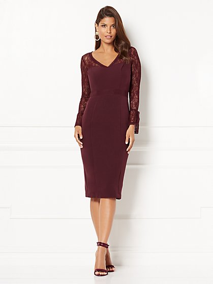 Eva Mendes Collection - Dominique Lace Sheath Dress - New York & Company