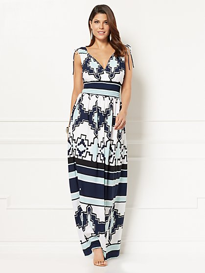 Eva Mendes Collection - Eden Maxi Dress - Petite - New York & Company