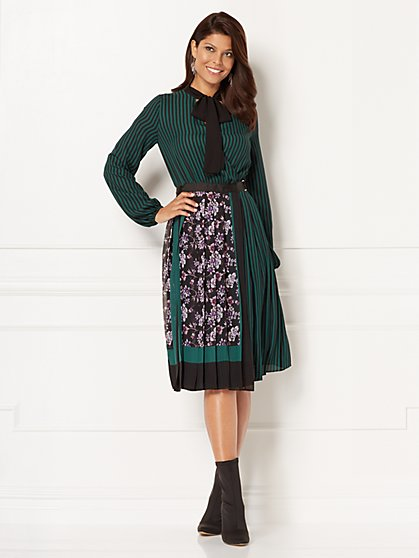 Eva Mendes Collection - Elysa Wrap Dress - Petite - New York & Company