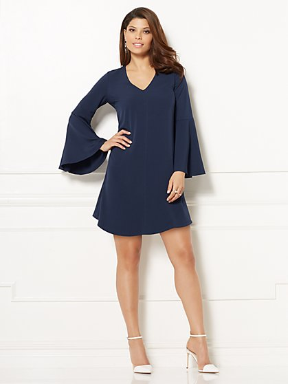 Eva Mendes Collection - Estera Bell-Sleeve Dress - New York & Company