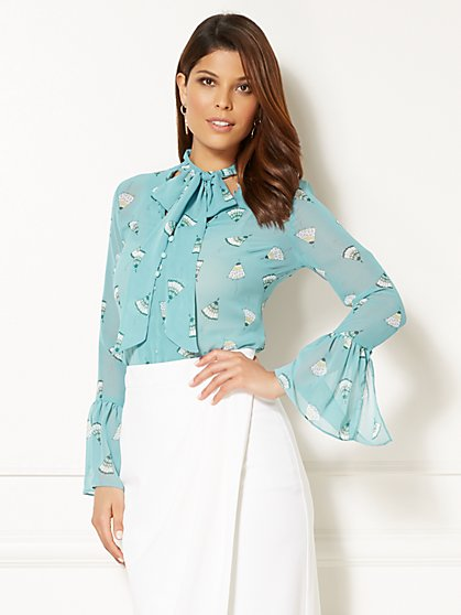 Eva Mendes Collection - Evie Blouse - New York & Company