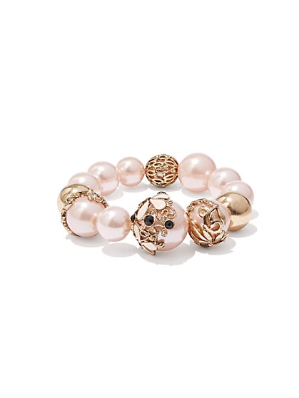 Eva Mendes Collection - Faux-Pearl Bracelet  - New York & Company