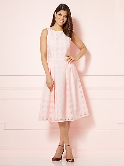 Eva Mendes Collection - Felicity Dress - Gingham - New York & Company