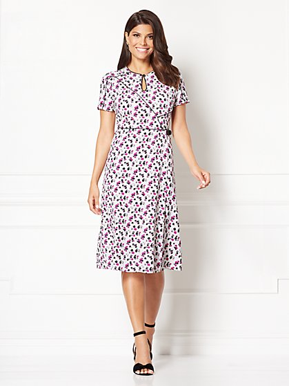 Eva Mendes Collection - Flora Wrap Dress - New York & Company
