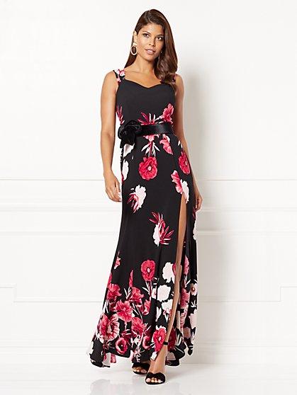 Eva Mendes Collection - Floriana Maxi Dress - Tall - New York & Company