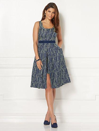 Eva Mendes Collection - Freya Jacquard Dress - Petite - New York & Company