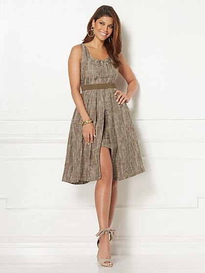 Eva Mendes Collection - Freya Jacquard Dress - Tall - New York & Company