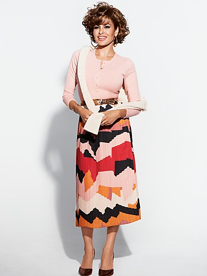 Eva Mendes Collection - Gianna Pleated Skirt - New York & Company
