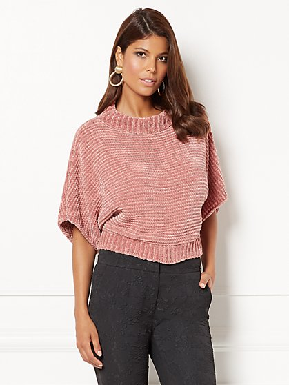 Eva Mendes Collection - Gracie Funnel-Neck Sweater - New York & Company