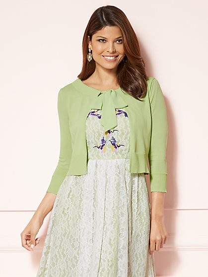 Eva Mendes Collection - Hailey Dress Cardigan - New York & Company