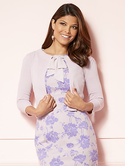 Eva Mendes Collection - Hailey Dress Cardigan - New York & Company