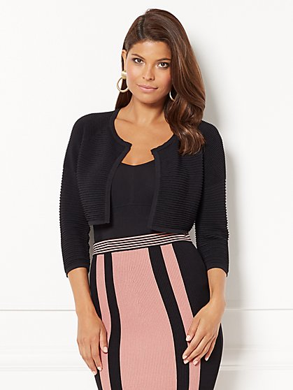 Eva Mendes Collection - Hilaria Crop Cardigan - New York & Company