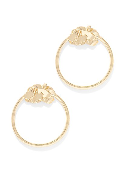 Eva Mendes Collection -  Hoop Earring  - New York & Company