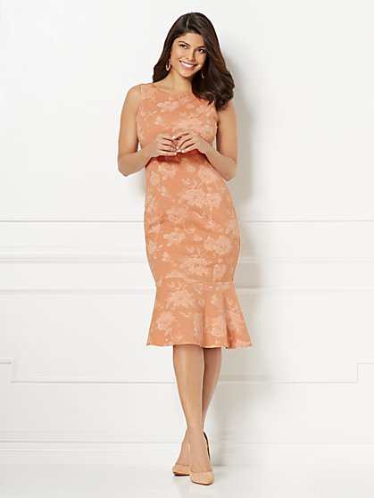 Eva Mendes Collection - Isadora Jacquard Sheath Dress - New York & Company