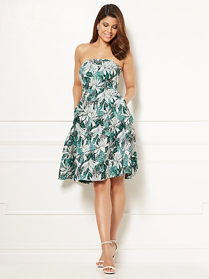 Eva Mendes Collection - Jacquard Del Mar Dress - New York & Company