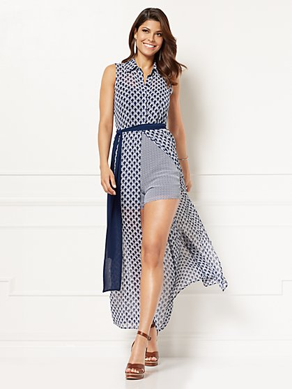 Eva Mendes Collection - Joelle Shirtdress - Petite - New York & Company