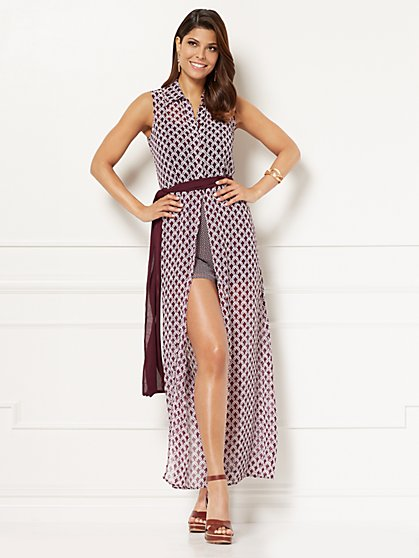 Eva Mendes Collection - Joelle Shirtdress - Petite - New York & Company
