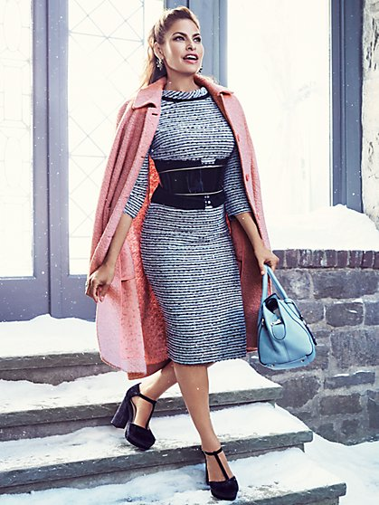 Eva Mendes Collection - Jolanda Bouclé Dress - New York & Company