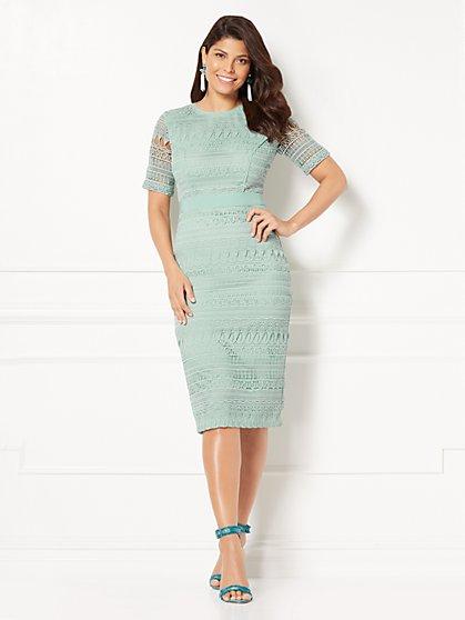 Eva Mendes Collection - Julietta Lace Sheath Dress - Tall - New York & Company