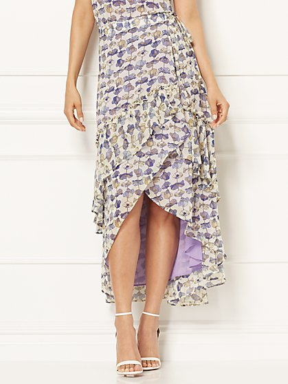 Eva Mendes Collection - Karysa Wrap Skirt - New York & Company