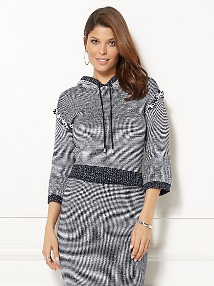 Eva Mendes Collection - Kasia Hooded Sweater - New York & Company