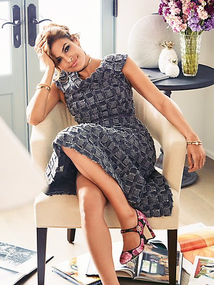 Eva Mendes Collection - Kata Fit & Flare Dress - New York & Company