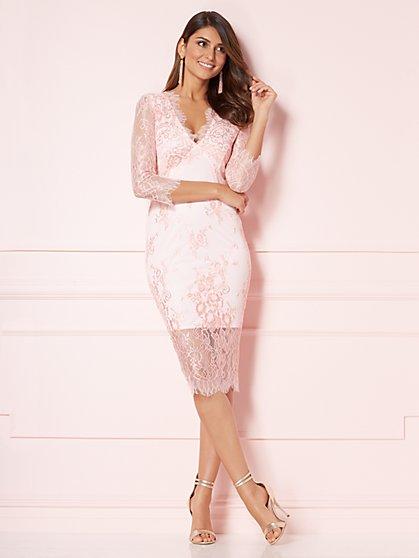 Eva Mendes Collection - Kiara Lace Sheath Dress - New York & Company