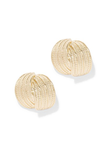 Eva Mendes Collection - Knot Post Earring  - New York & Company