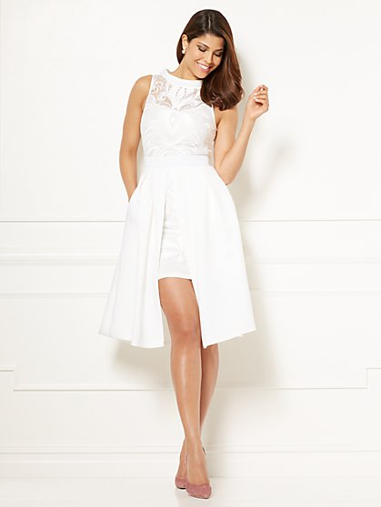 Eva Mendes Collection - Lace Freya Dress - Petite - New York & Company