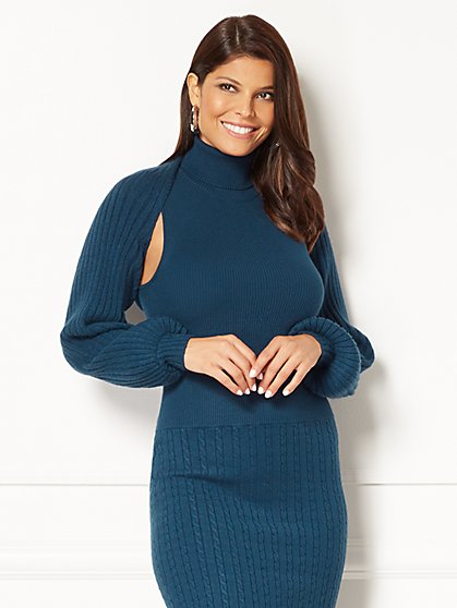 Eva Mendes Collection - Lena Shrug  - New York & Company