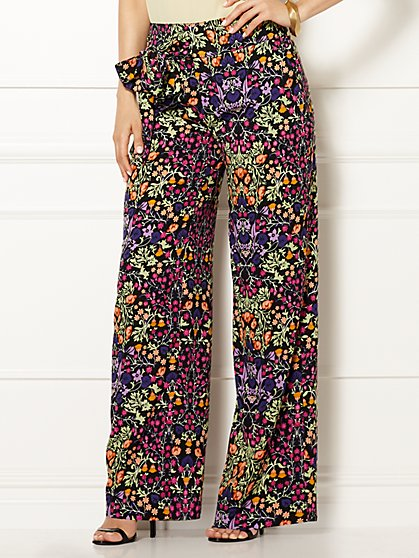 Eva Mendes Collection - Leora Palazzo Pant - New York & Company