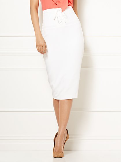 Eva Mendes Collection - Lisa Corset Pencil Skirt - New York & Company