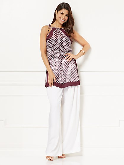 Eva Mendes Collection - Lora Halter Blouse - New York & Company