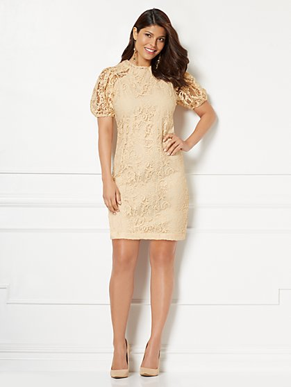 Eva Mendes Collection - Lorelle Lace Shift Dress - New York & Company