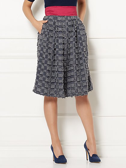 Eva Mendes Collection - Maddie Fringe Skirt - Petite - New York & Company